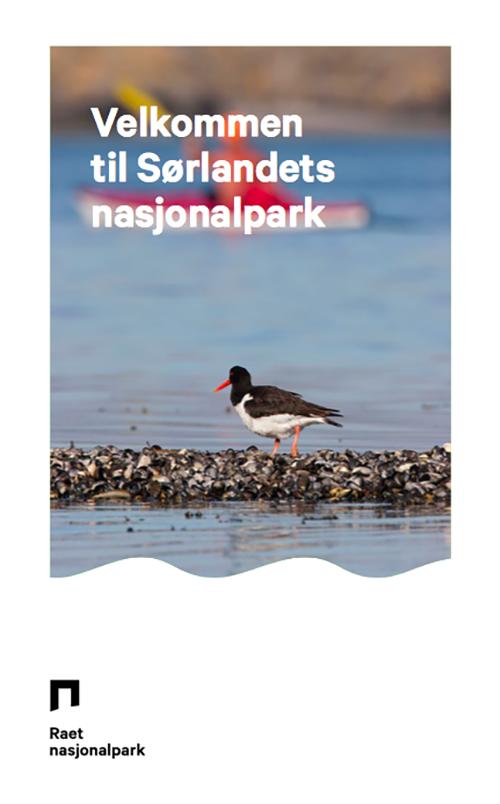 Brosjyreforside: Velkommen til Raet nasjonalpark.
