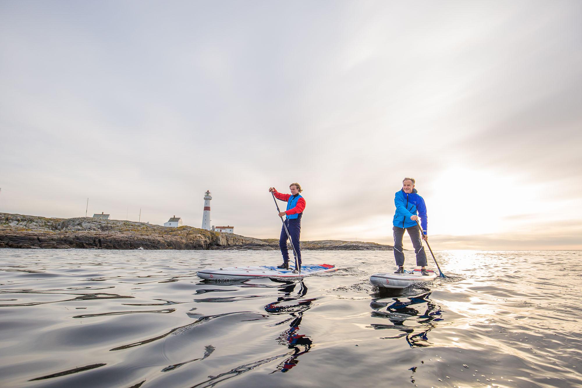 """Aktiviteter i den marine nasjonalparken står høyt på """"to-do""""-lista til LowCamp. Foto: Espen Bierud"""