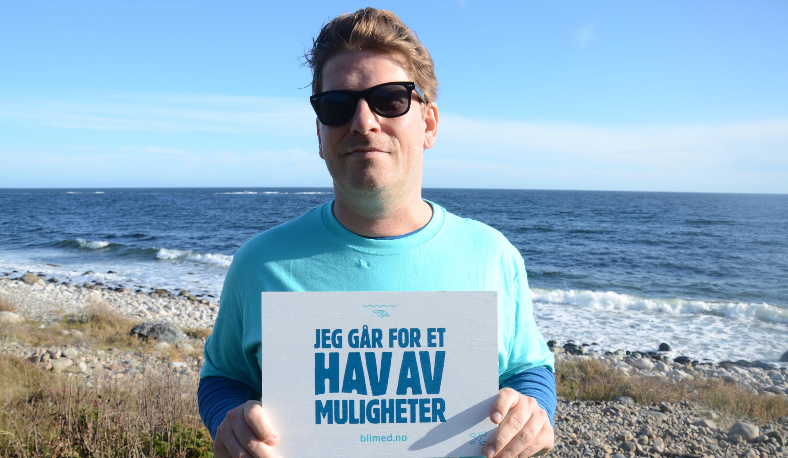 FADNES går for et hav av muligheter og støtter årets TV-aksjon i kampen mot plast i havet.